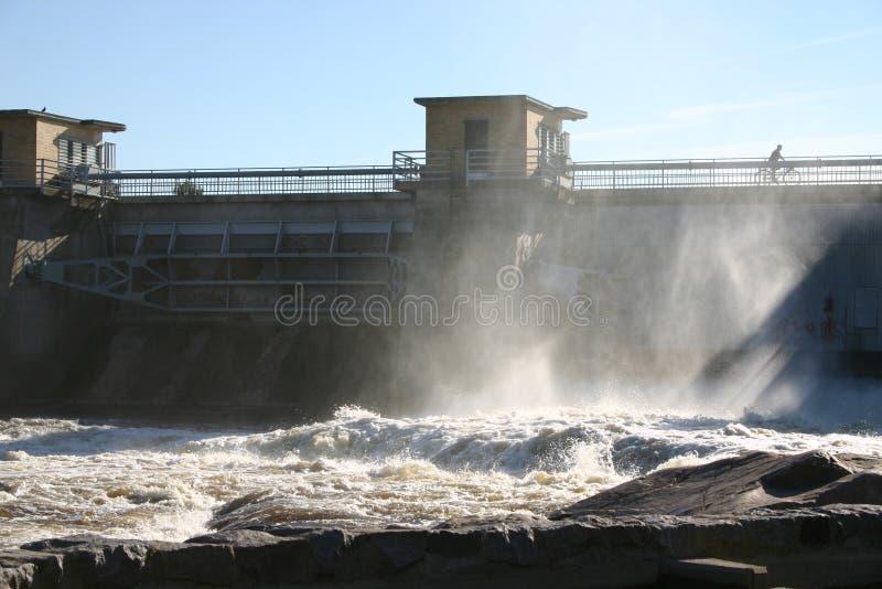 Central eléctrica Hydroelectric imagens de stock