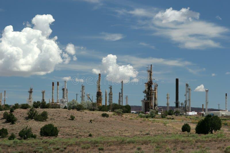 Central eléctrica industrial imagenes de archivo