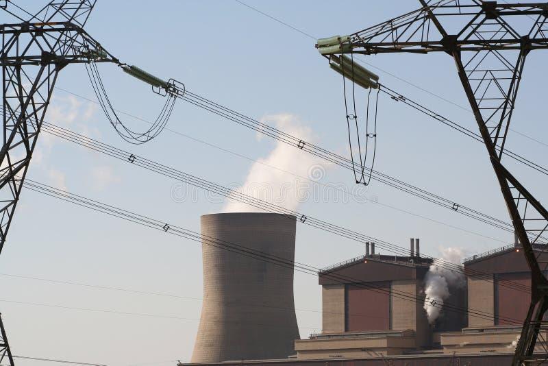 Download Central Eléctrica Industrial Foto de archivo - Imagen de industrial, voltaje: 178082