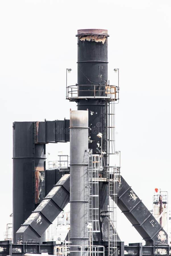 Central eléctrica industrial fotografía de archivo