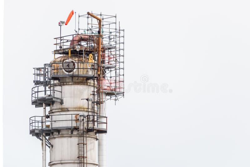 Central eléctrica industrial fotos de archivo libres de regalías