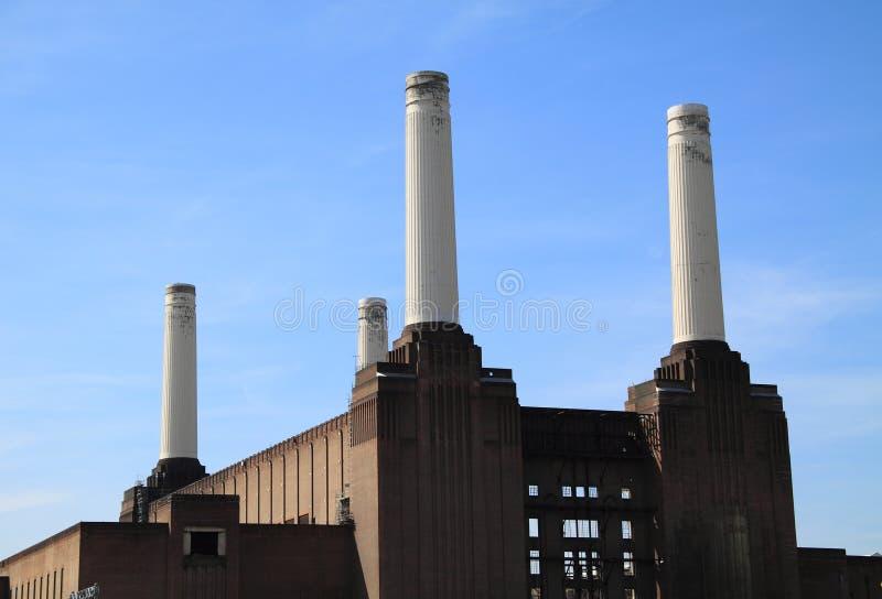 Central eléctrica Londres de Battersea imagem de stock
