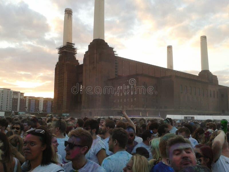 Central eléctrica Londres de Battersea fotos de stock