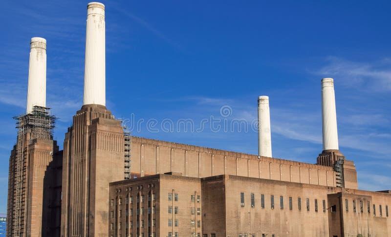 Central eléctrica Londres de Battersea fotos de stock royalty free