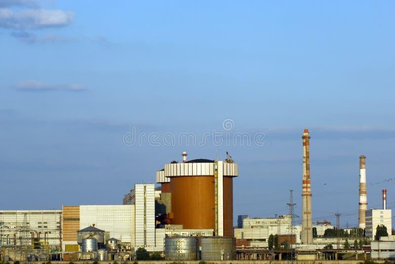 Central eléctrica nulear sul de Ucrânia fotos de stock royalty free