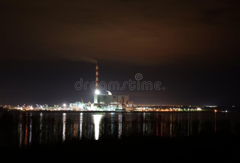 Central elétrica Berezovskaya Gres foto de stock royalty free