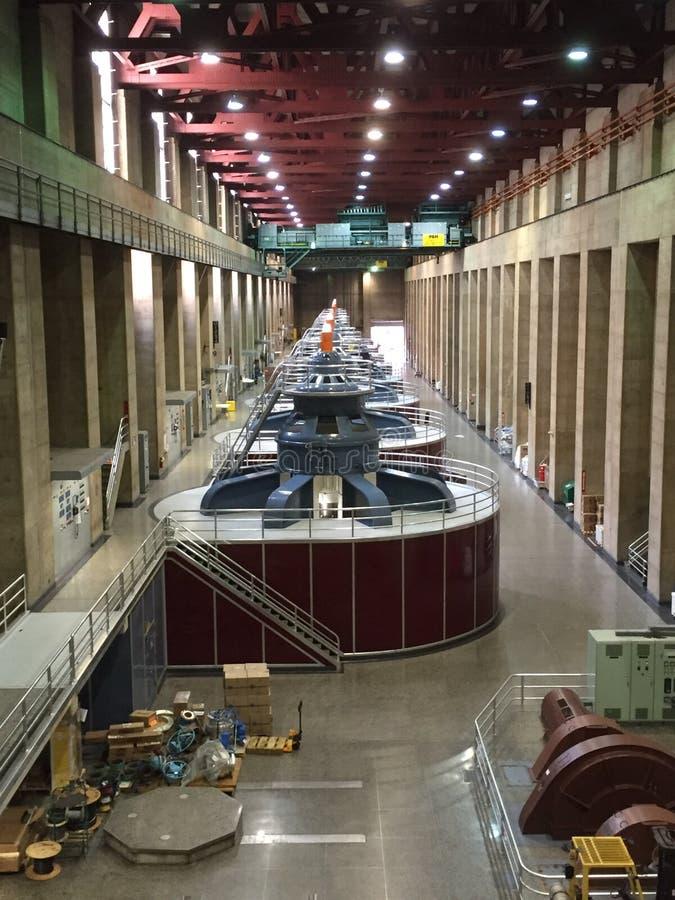 Central elétrica da barragem Hoover fotografia de stock royalty free