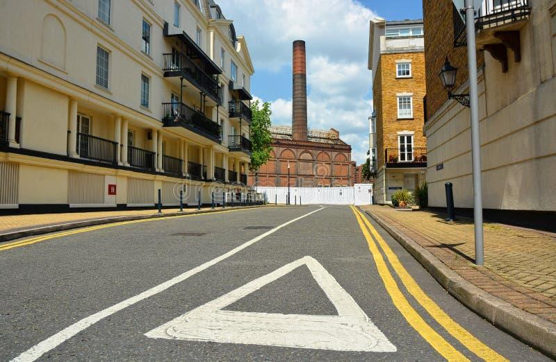 Central elétrica da estrada dos lotes redevelopment Chelsea, Londres Reino Unido foto de stock royalty free