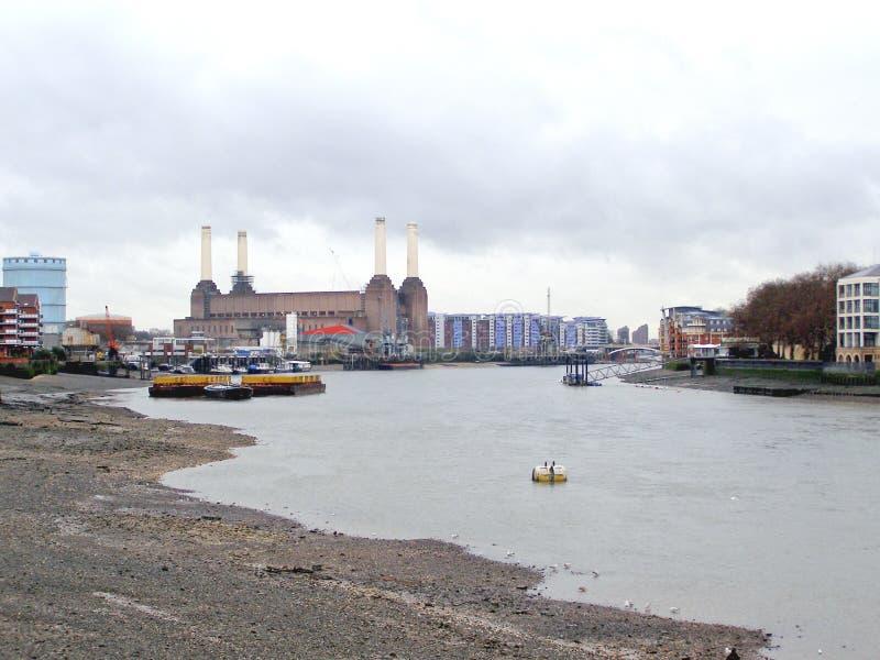 Central elétrica de Londres Battersea fotos de stock royalty free