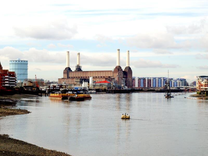 Central elétrica de Londres Battersea fotografia de stock royalty free