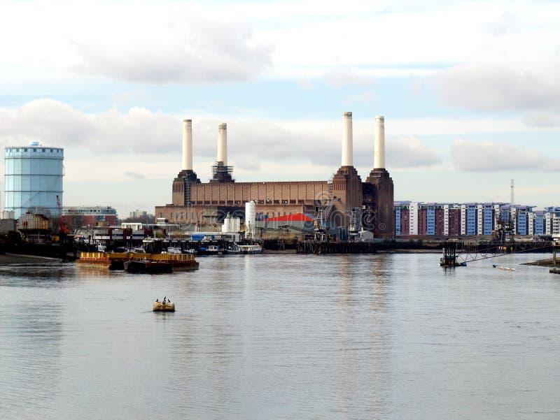 Central elétrica de Londres Battersea imagens de stock royalty free