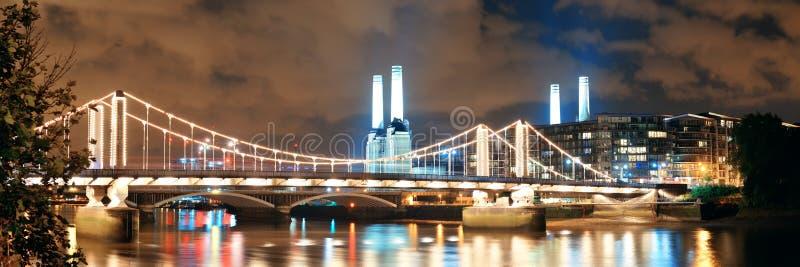 Central elétrica Londres de Battersea foto de stock