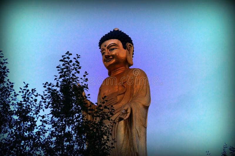 Buddha International Park was founded in the capital of Mongolia in 2006 .. stock photography