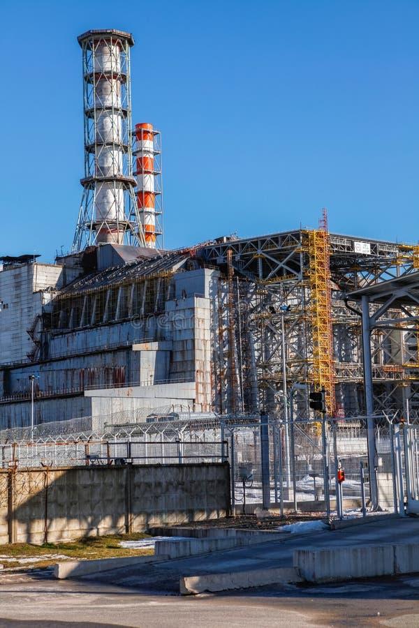Download A Central Energética Nuclear De Chernobyl Foto de Stock - Imagem de explosão, damage: 26513108