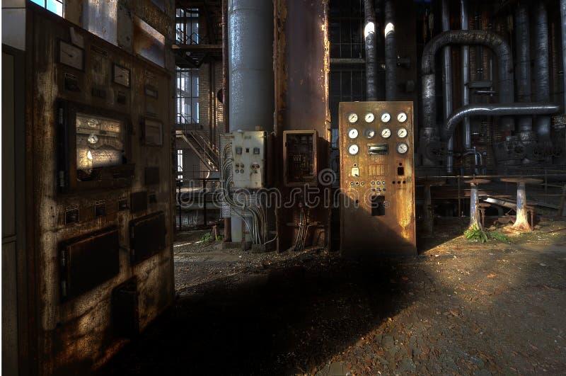 Download Central energética velha imagem de stock. Imagem de abandonado - 26520959