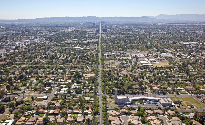 Central et Glendale images libres de droits