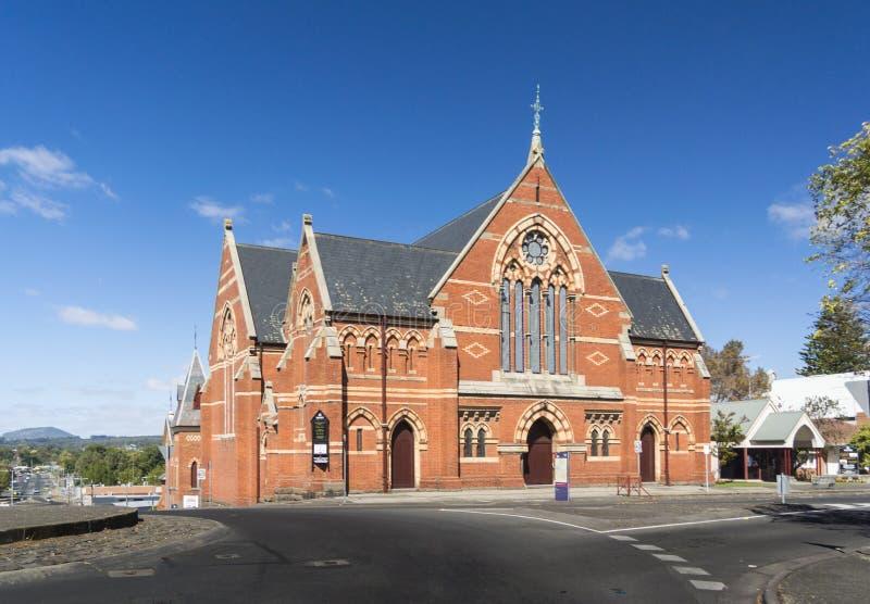 Central förena kyrka, Ballarat, Australien arkivbild