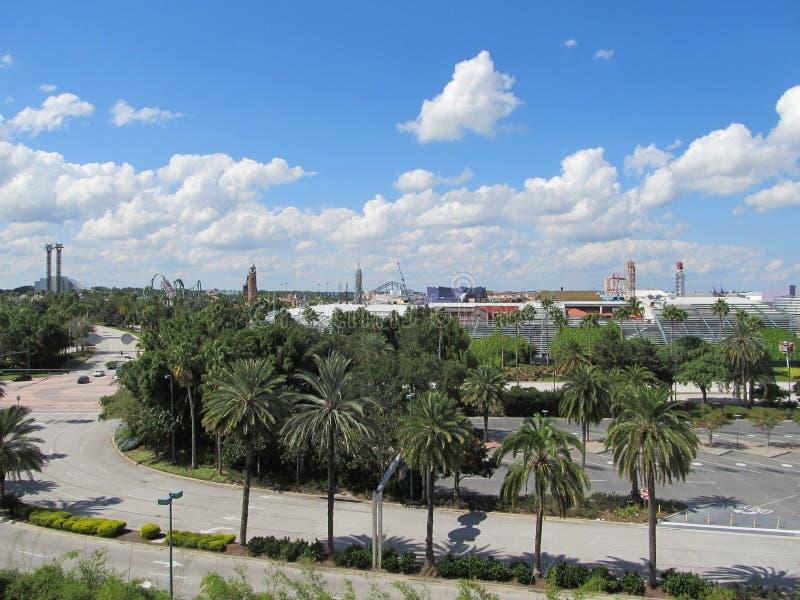 Central Floridian horisont arkivfoton