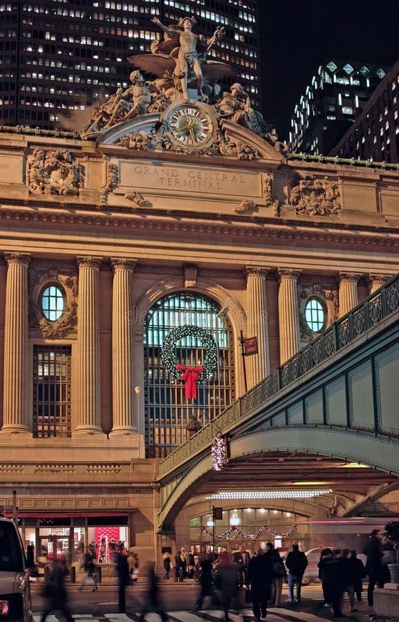 Central grand New York de Noël photographie stock