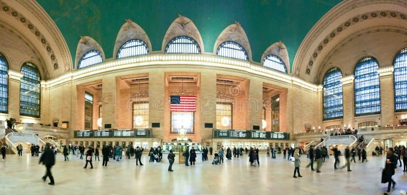 Central grande em New York City fotos de stock