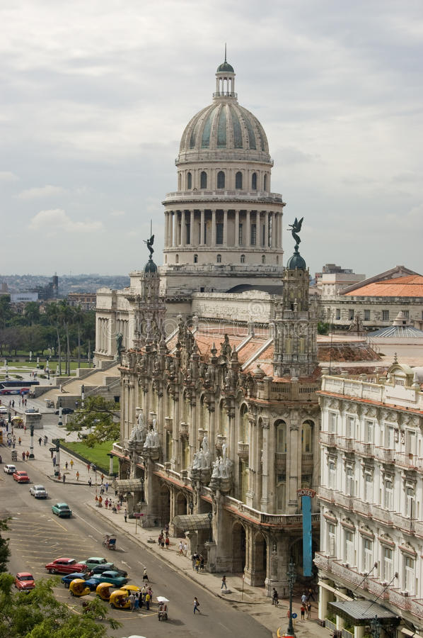 Central Havana View Stock Photos