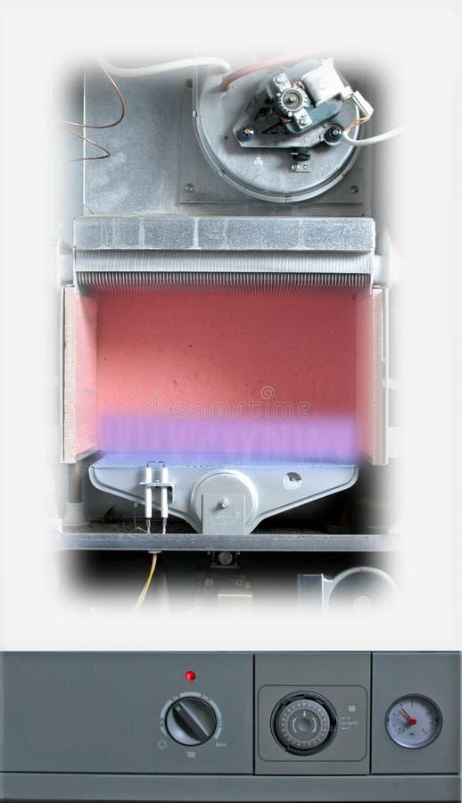 Download Central Heating Boiler stock illustration. Illustration of house - 407674