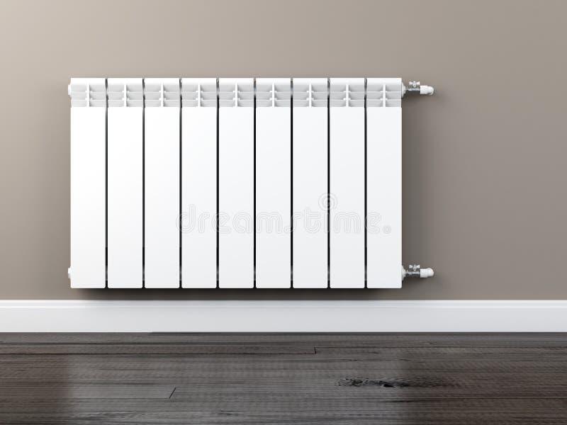 Central heating radiator stock illustration
