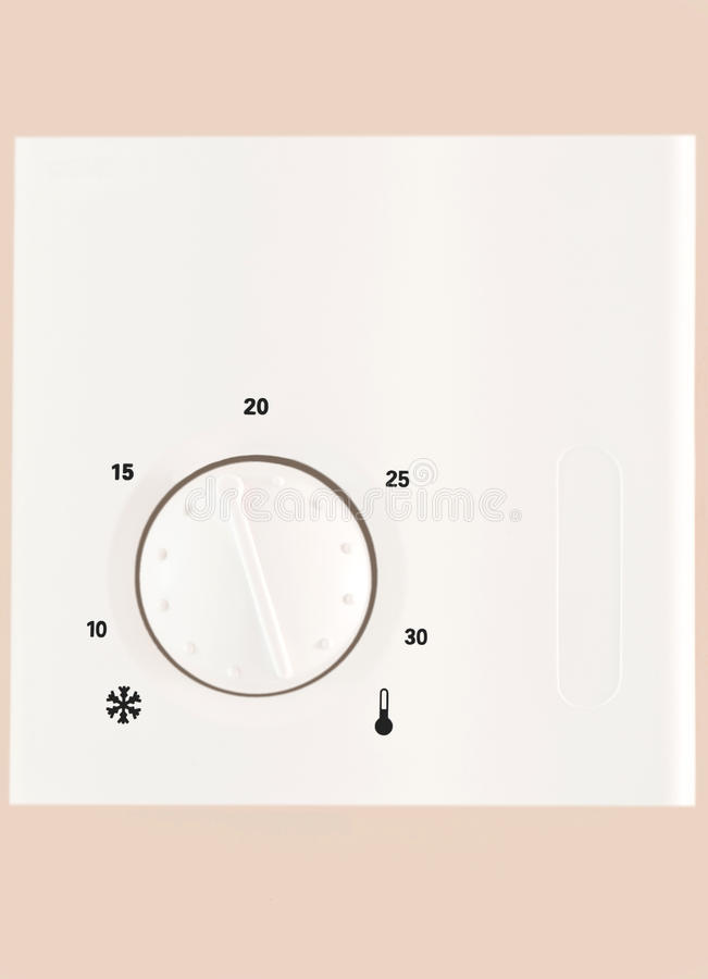 Download Central Heating Thermostat stock photo. Image of pipes - 15092798
