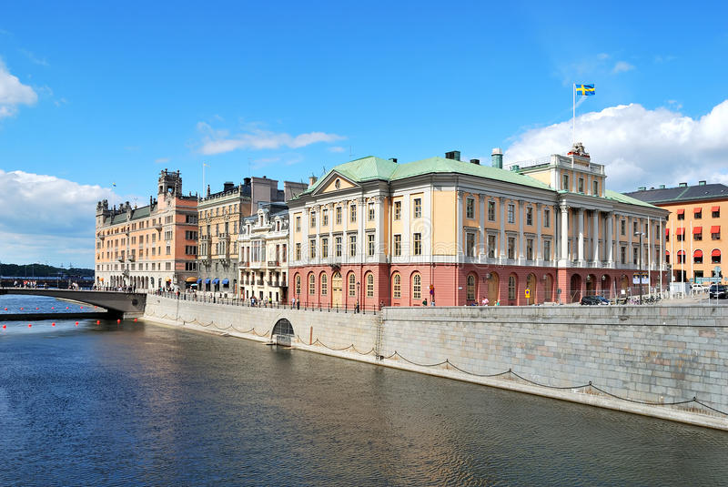 central invallning stockholm royaltyfria foton