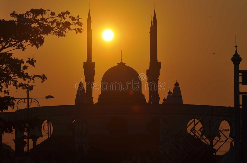 Central Java Grand Mosque. Is a mosque located in Semarang, Central Java province, Indonesia. This mosque was built since 2001 until it was completed in its stock photos
