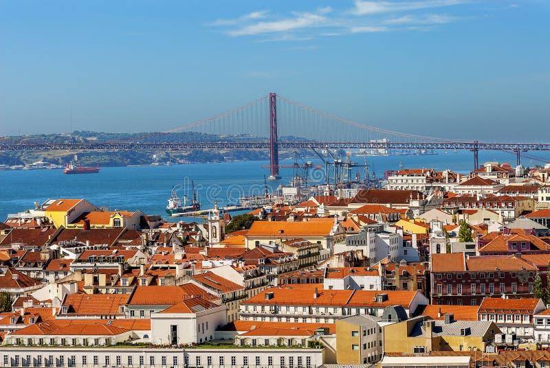 Central Lisbon stock images