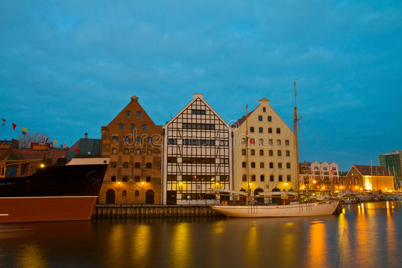 Download Central Maritime Museum In Gdansk At Night Stock Photo - Image: 32023960