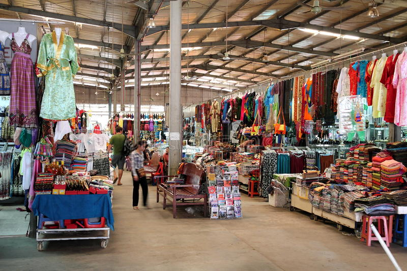 Download Central Market, Cambodia editorial stock photo. Image of design - 17455833