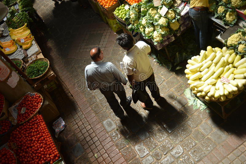 Central Market, Port Louis. royalty free stock photography