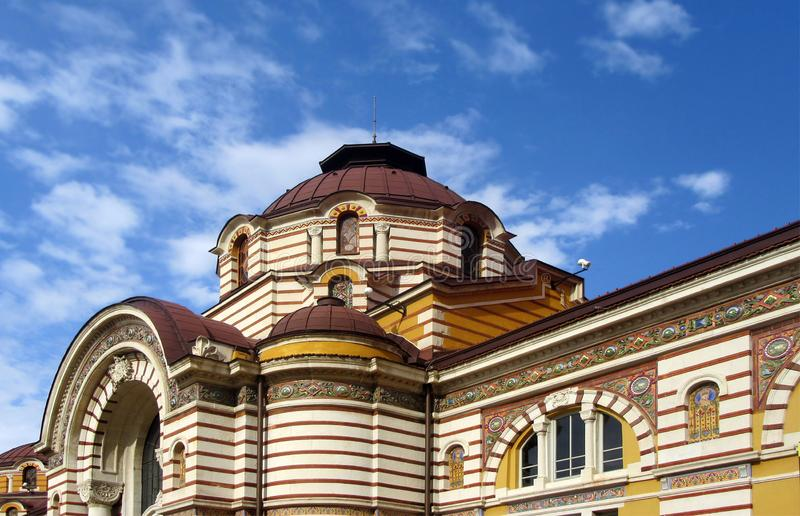 Central Mineral Bath in Sofia. Now Museum for the History of Sofia. royalty free stock photo