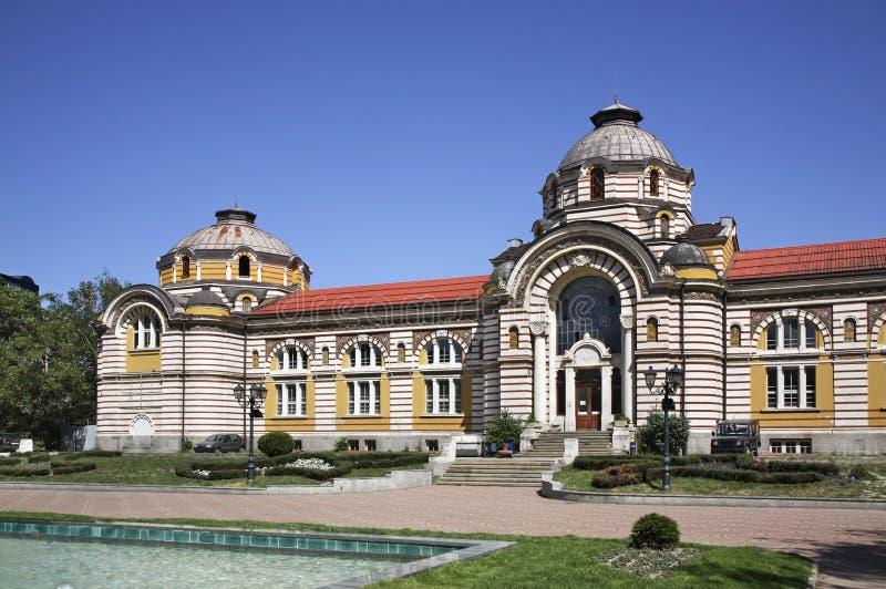 Central Mineral Baths in Sofia. Bulgaria.  stock photo