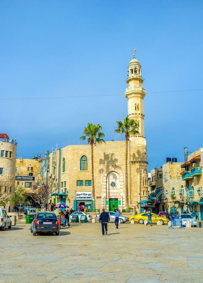 central moské fotografering för bildbyråer