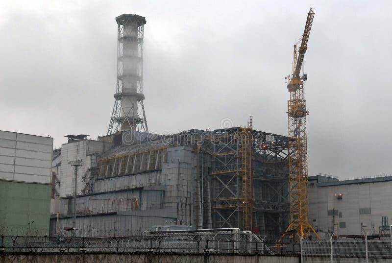 Central nuclear de Chernobyl fotografía de archivo