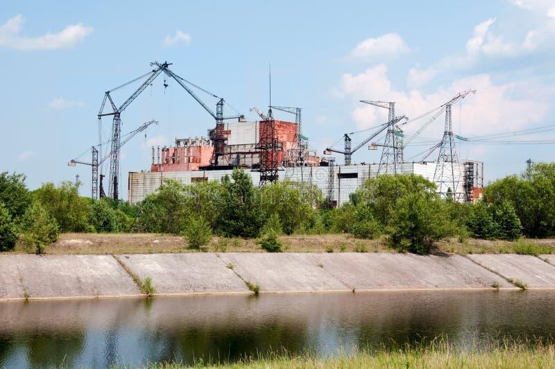 Central nuclear de Chernobyl imágenes de archivo libres de regalías