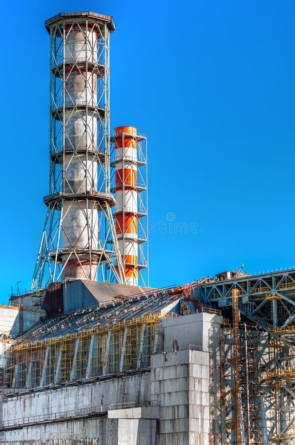 Central nuclear de Chernobyl 2012 foto de archivo libre de regalías