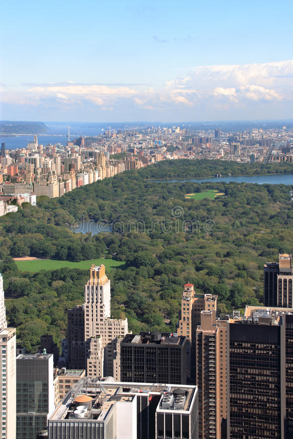 central ny park york arkivfoton