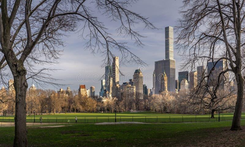 central nycpark royaltyfri bild