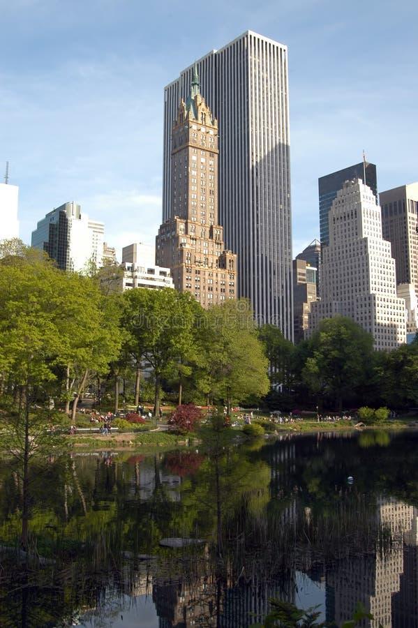 Central Park arkivfoton