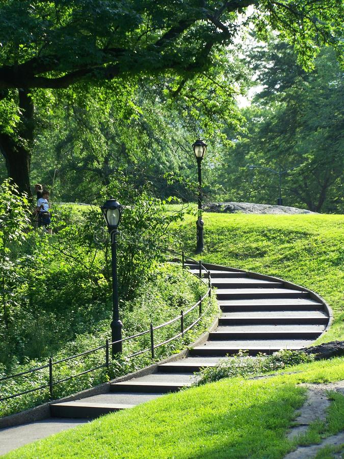 Central Park image stock