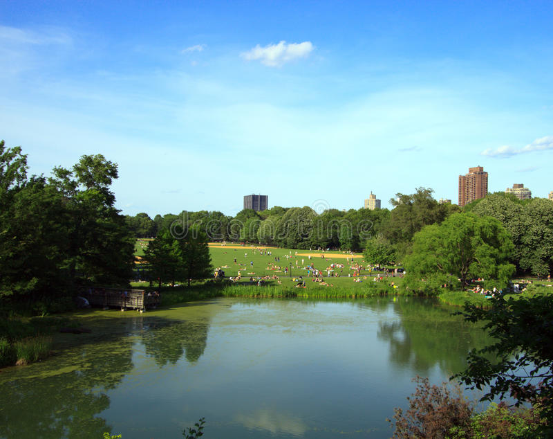 Central Park photographie stock libre de droits