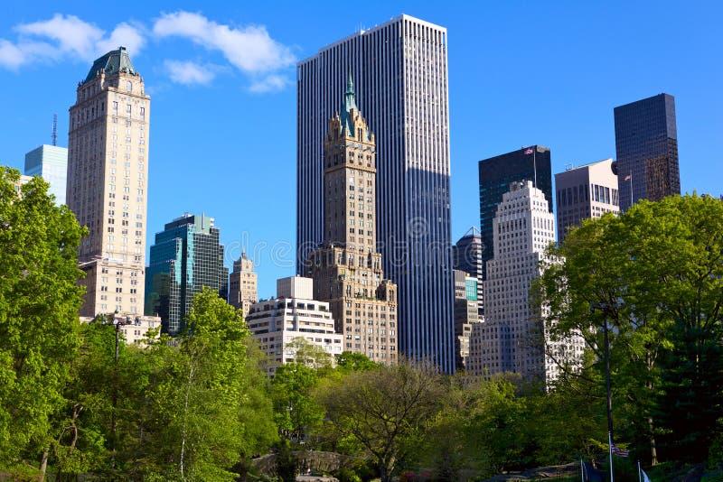 Central Park imagen de archivo