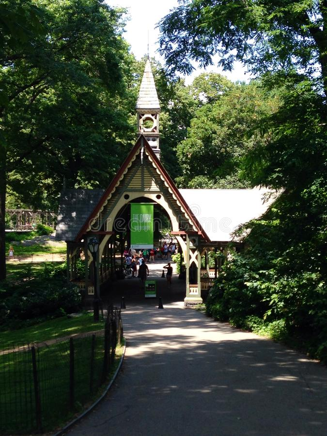 Central Park fotografie stock