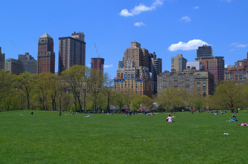 Central Park photographie stock