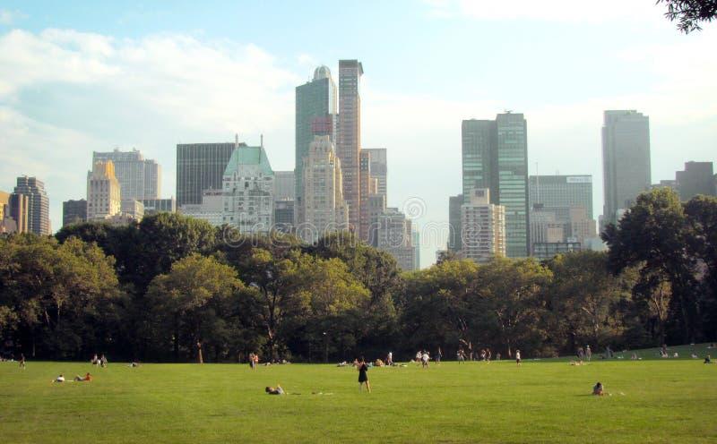 Central Park royaltyfri fotografi