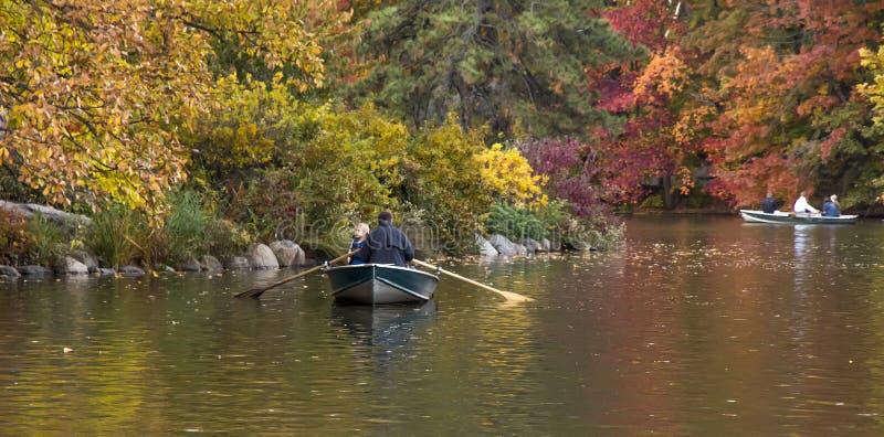 Central Park bij Daling royalty-vrije stock afbeeldingen